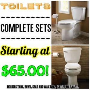 toilet collage