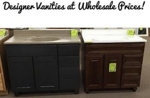 website designer vanities